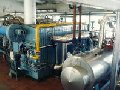 Boilers with indirect heating by thermal oil