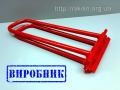 Рамка для закриття подвійного стоячого фальца