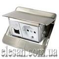 Legrand Блок выдвижной 3мод. нерж. сталь (54020)
