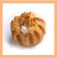 Эклер с масляным кремом