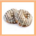 Кольцо заварное глазурь Сливки. Изделия кондитерские