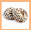 Кольцо заварное глазурь Сливки. Изделия мучные кондитерские