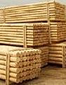 Колья деревянные оцилиндрованные