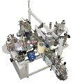 Автомат этикетировочный для нанесения самоклеящихся этикеток и контрэтикеток на вертикальные поверхности плоской и овальной тары СК-010-2П