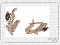Серьги золотые  с. Бр-49, номер в каталоге 1130040