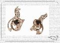 Серьги золотые  с. Бр-70, номер в каталоге 1110549