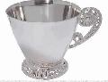 Чашка, номер в каталоге 8100028 , вес изделия 86.00 гр,  вес изделия в золоте 111.8 гр