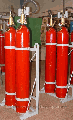 Modules - the MGP-2-60 Gas extinguishing installation for suppression of the fires of classes A (solid materials), In (liquid), About (gases), E (electric equipment) in the volume and local way.
