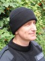 Cap knitted with top
