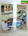 Фотошторы Венеция в разных ракурсах