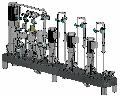 Биодизельный реактор гидродинамический взрывозащищенный для получения сырого биодизеля путем смешивания компонентов производства биодизеля.