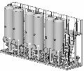 Блок очистки и фильтрации биодизеля взрывозащищенный для очистки биодизеля от механических примесей и отбора остаточного метанола.