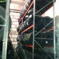Стойка под шины (одинарный ряд шин) 2000х1230х 502на 3 яруса
