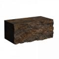 Блоки для заборов  Колотый Камень (350x180x150)