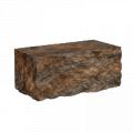 Блоки для заборов  Колотый Камень Для Столбиков (300-100-150)