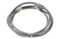 Патч-корд Pleolan UTP RJ45 (8P8C) cat. 5e, 2м, PVC (ПВХ), серый