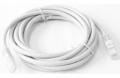 Патч-корд Pleolan UTP RJ45 (8P8C) cat. 6, 3м, PVC (ПВХ), серый