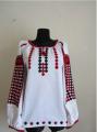 Женская вышитая рубашка A-17. Подарки для женщин