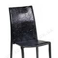 Chair NC-500 black crocodile