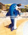 Водопады для бассейнов Dolphin fountain (Водопад Дельфин)