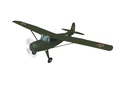 Самолеты RC8619 Авиамодель р/у Як-12, электро, ARF, зеленая