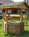 Колодцы деревянные