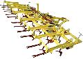 Культиватор КПЭ-6П для сплошной предпосевной паровой обработки почвы и осенней обработки стерневых полей с сохранением стерни и других поживных рстатков в районах, подверженных ветровой эрозии.