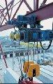 Запасные части для болгарских тельферов канатоукладчики, муфты, электродвигатели, вентилятор, накладки