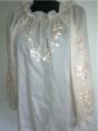 Жіноча сорочка, женская сорочка A-35, 100% лен.