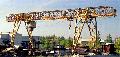 Кран козловой ККГ3-25-32 для погрузочно-разгрузочных работ штучных или сыпучих грузов на материальных базах и складах, на площадках укрупненной сборки конструкций.