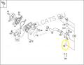 Прокладка термостата sr02235