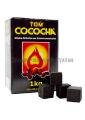 Уголь кокосовый Tom Cococha 1кг (72 шт), большой кубик