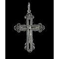Крест Серебряный 25
