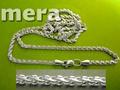 Бисмарк цепочка из серебра 925 пробы, любой вес и длина