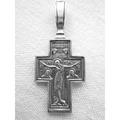 Крест Серебряный 9