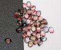 Турмалин -  розовые, красные, синие, зеленые, желтые, коричневые камни множества оттенков