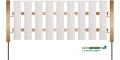 Заборчик декоративный ЕВРОШТАКЕТ® белый 500х1250мм