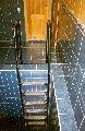 Лестницы металлические из нержавеющей стали