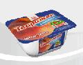 """Десерт творожный """"Творожок"""" 5% жирности с наполнителем персик, вес 170гр в стаканчиках из полипропилена, запаянных фольгой, ТМ """"Злагода"""""""