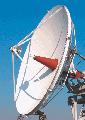 Антенная система, диаметр - 5,0 м (5m Antenna) для использования в качестве приемной или приемо-передающей антенны в составе наземных станций спутниковых коммуникационных сетей.