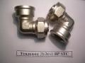 Уголок для металлопластиковой трубы Ду26х1ВР
