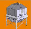 Охладитель противоточный. Оборудование для производства и приготовления кормов