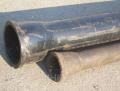 Трубы чугунные канализационные ЧК (2м) Ду50 Ду100