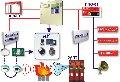 Система пожаротушения на базе прибора приемно-контрольного охранно-пожарного и управления ППКОПУ 01059-1000-3  Рубеж-08