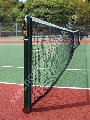 The rack is tennis. Equipment for open sports grounds