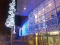 Гирлянда занавес (2 х 3 метра).Новогоднее украшение фасадов.