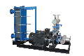 Шкаф теплообменный ИМ - 10М...ИМ - 150М для охлаждения дистиллированной водой источников выделения тепловой энергии и другого технологического оборудования по двухконтурной системе охлаждения вода/вода.