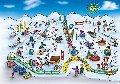 Сноутюбинг.  Зимові атракціони. Дитяче містечко.