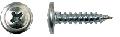 Саморез для крепления листового металла и металлических профилей до 0,9 мм