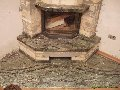 Fireplace angular
